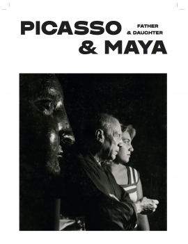Picasso and Maya : Father and Daughter